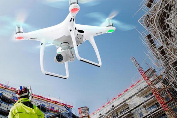 servicio de drone